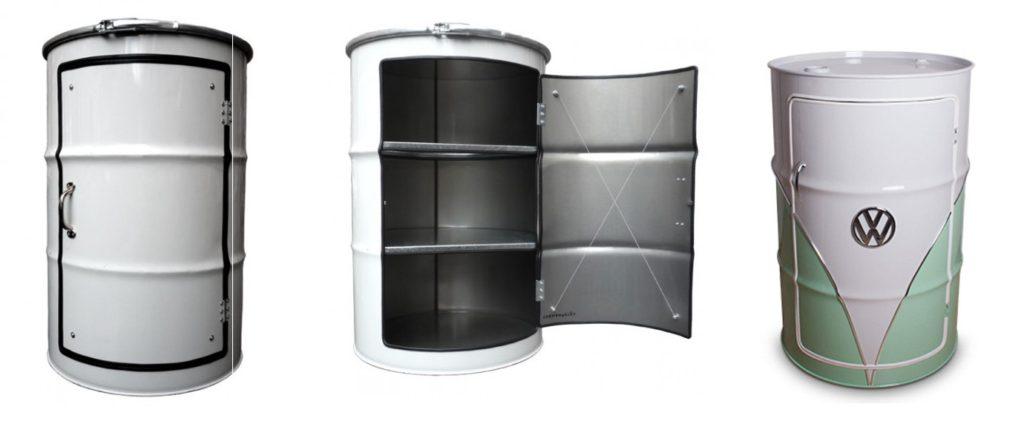tambor decorativo armário