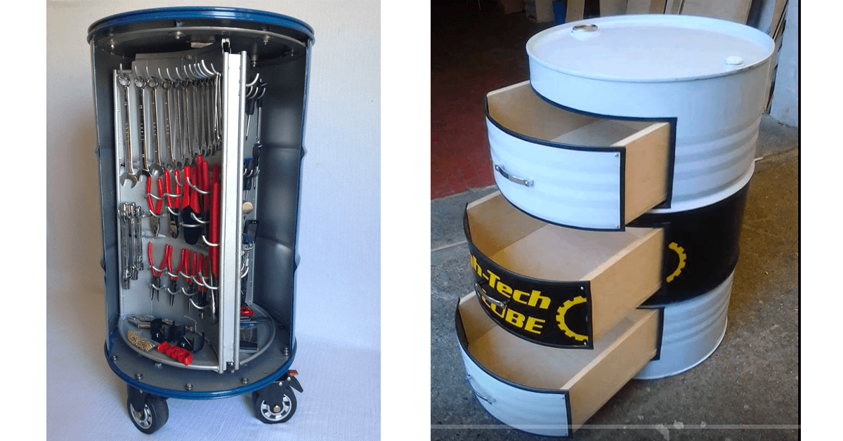 Porta Ferramentas de tambor