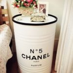 Tambor Decorativo Chanel