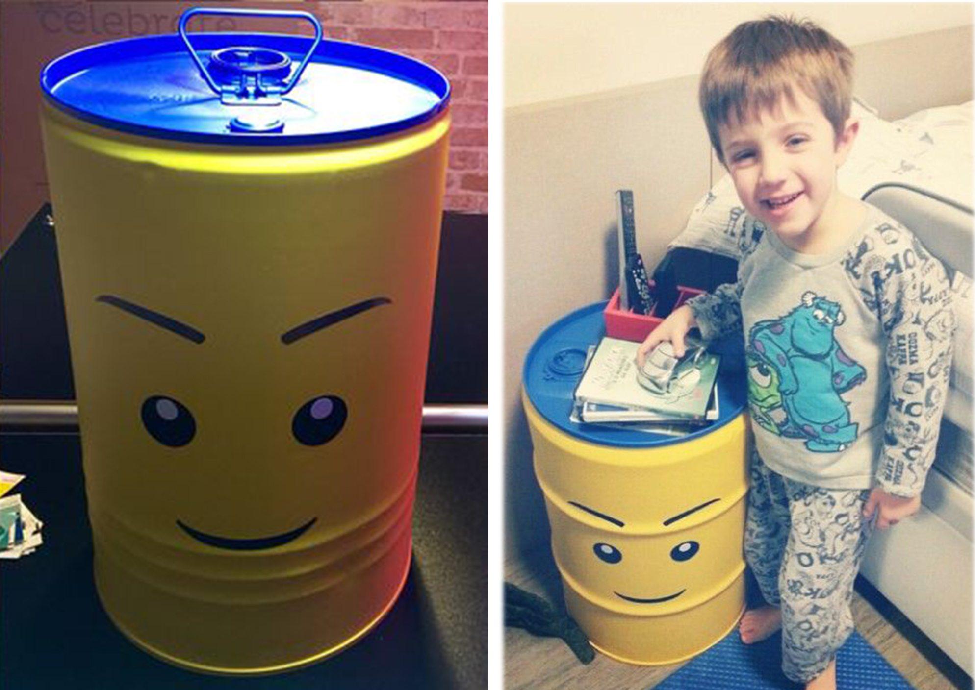 Tambor decorativo infantil para Brinquedos