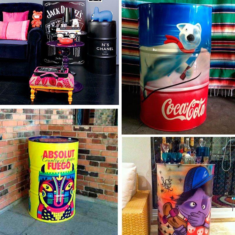 modelos de tambores decorativos para crianças