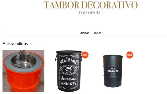 Preço de Tambor Decorativo